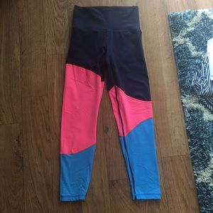 Aerie Move High Waisted 7/8 leggings